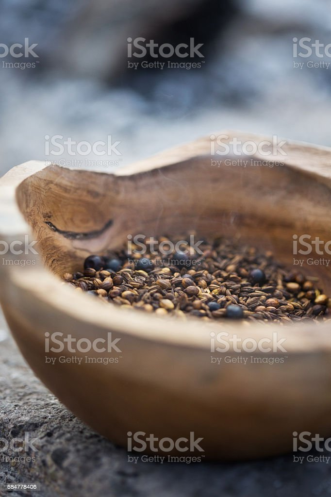 Roasted Spices stock photo