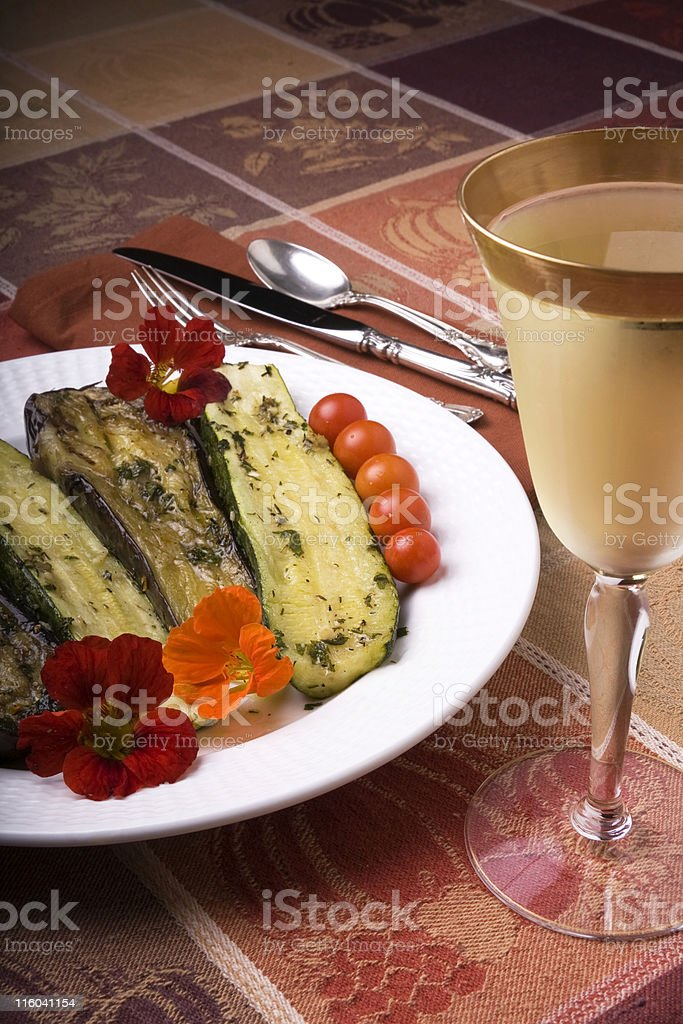 Roasted Vegetable Tapas royalty-free stock photo