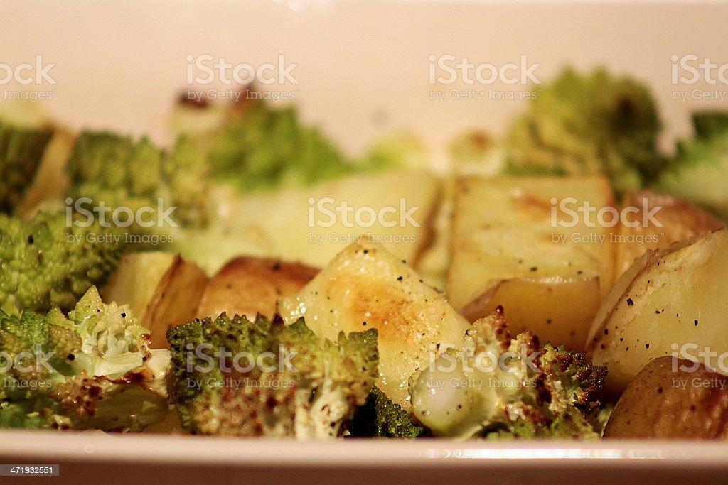 Verdure arrostite foto stock royalty-free