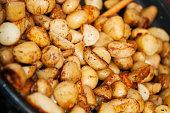 Roasting potato