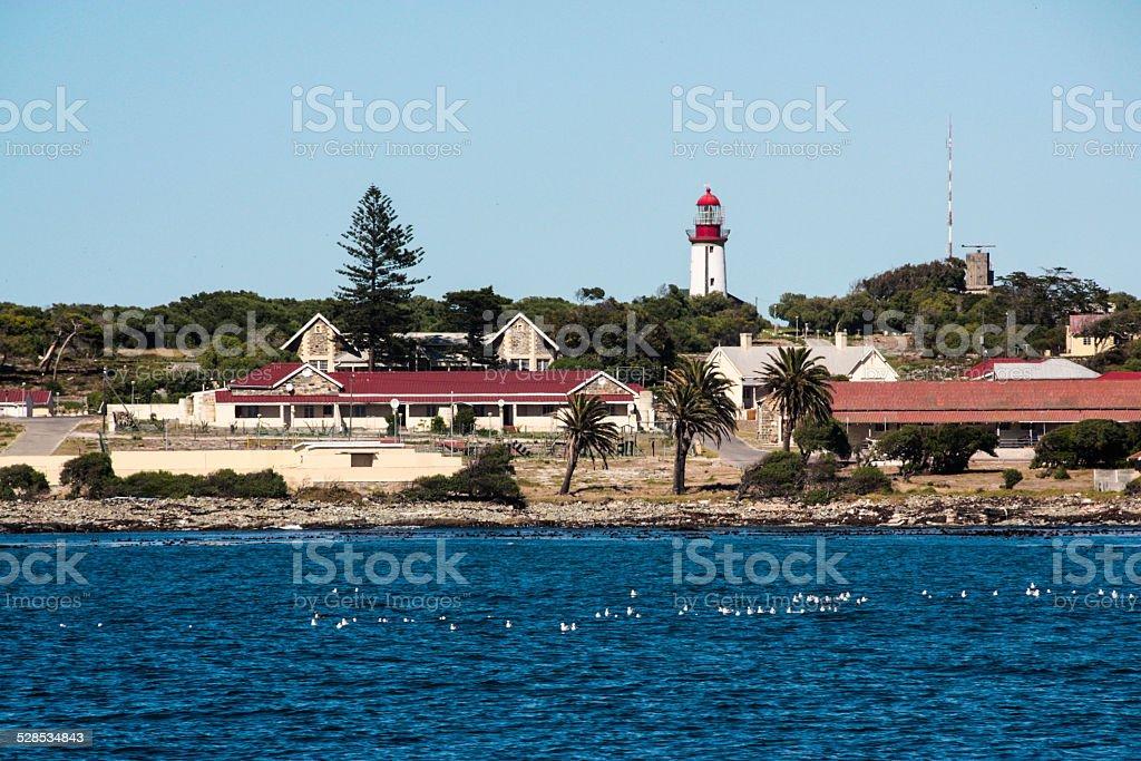 Robben Island stock photo