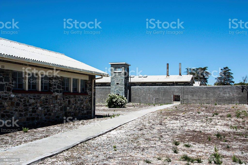Robben Island Prison stock photo