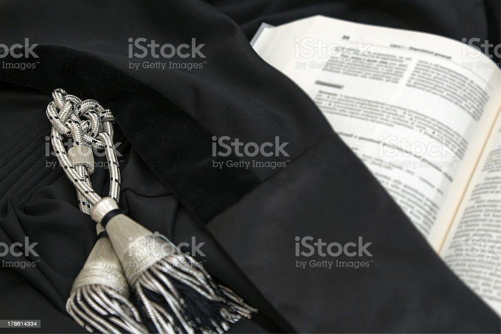 Robe Lawyer stock photo