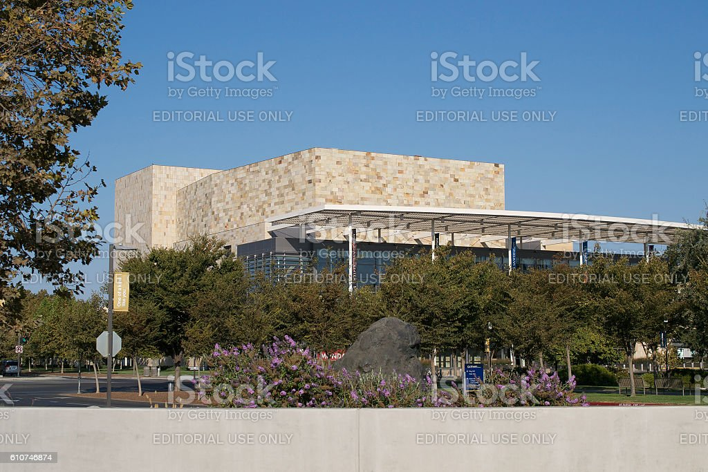 Robert and Margrit Mondavi Center for the Performing Arts stock photo