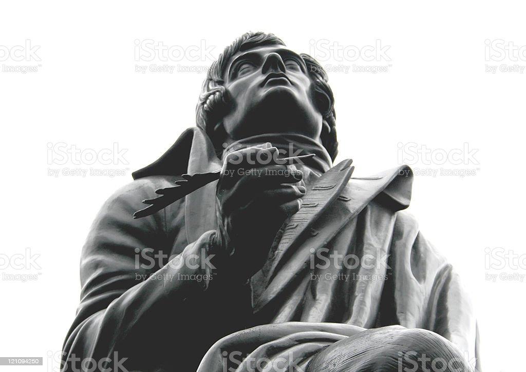 Robert Burns royalty-free stock photo