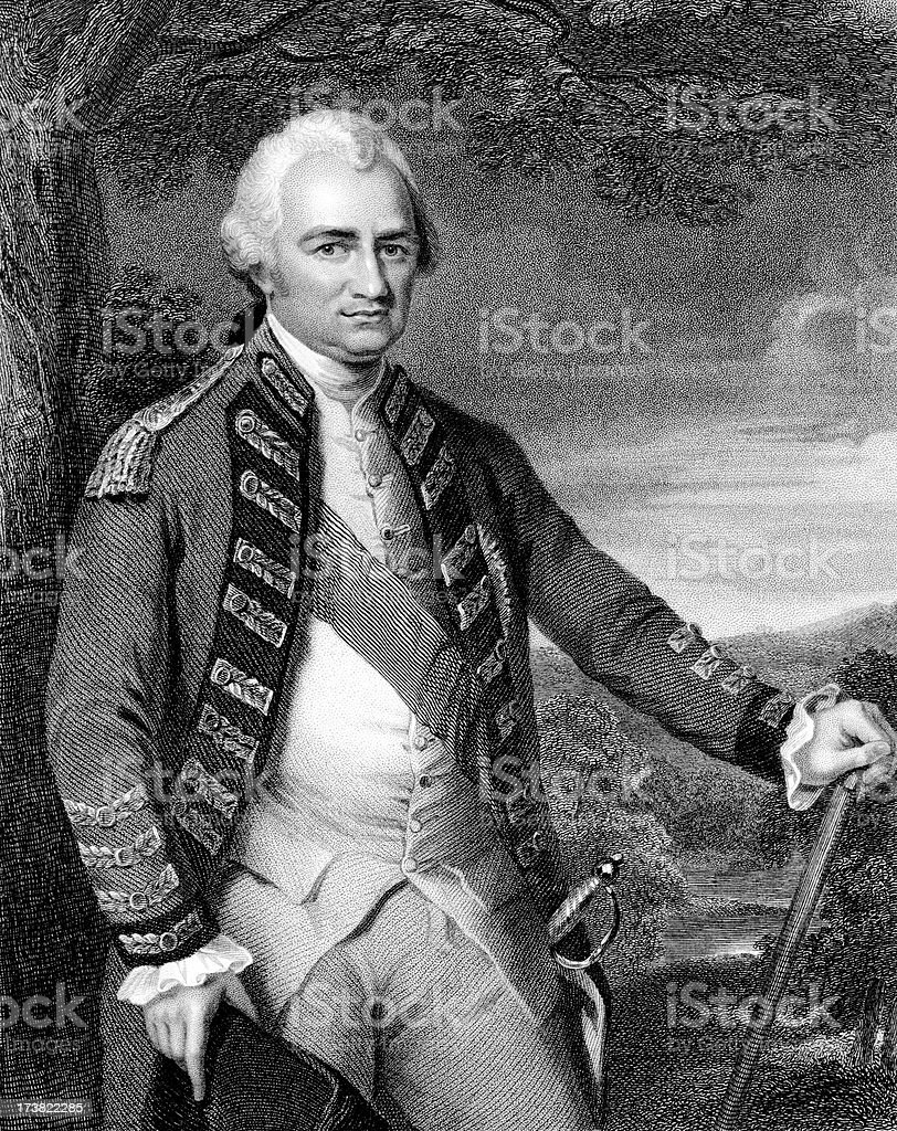 Robert Clive, 1st Baron stock photo