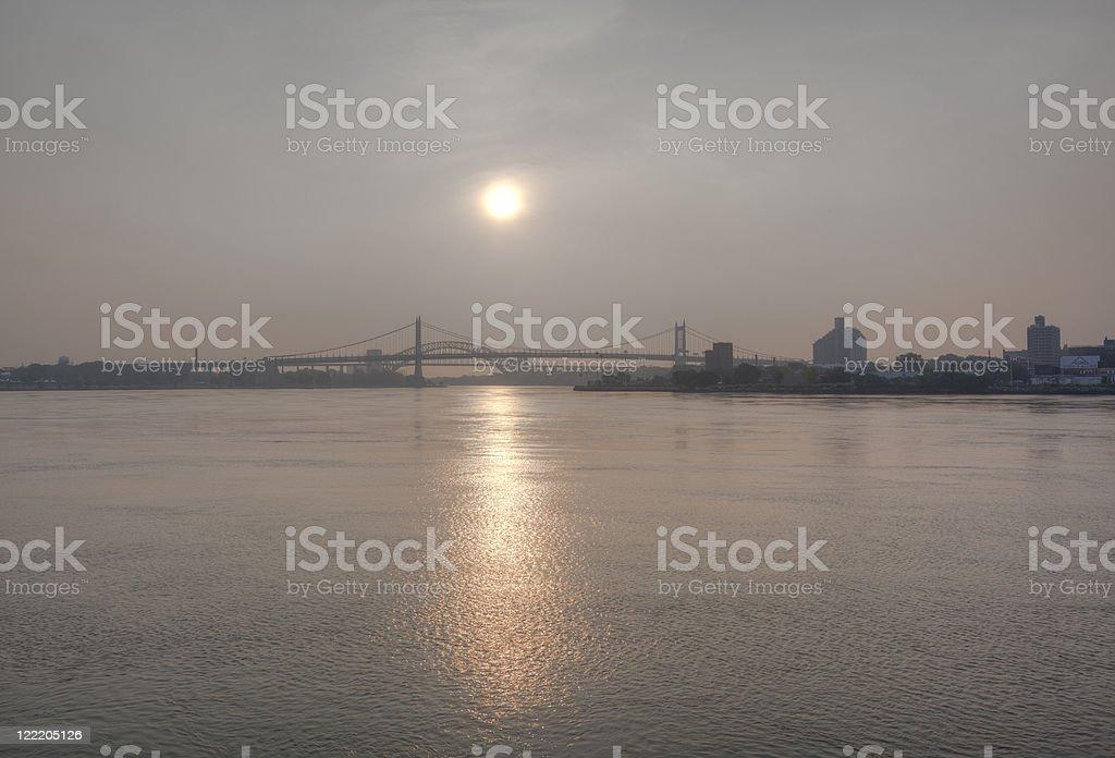 Robert F. Kennedy (RFK) Bridge stock photo