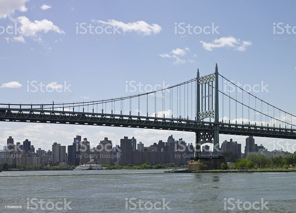 Robert F. Kennedy Bridge stock photo
