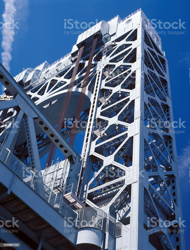 Robert F. Kennedy Bridge. stock photo