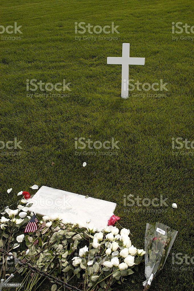 Robert Kennedy Grave stock photo