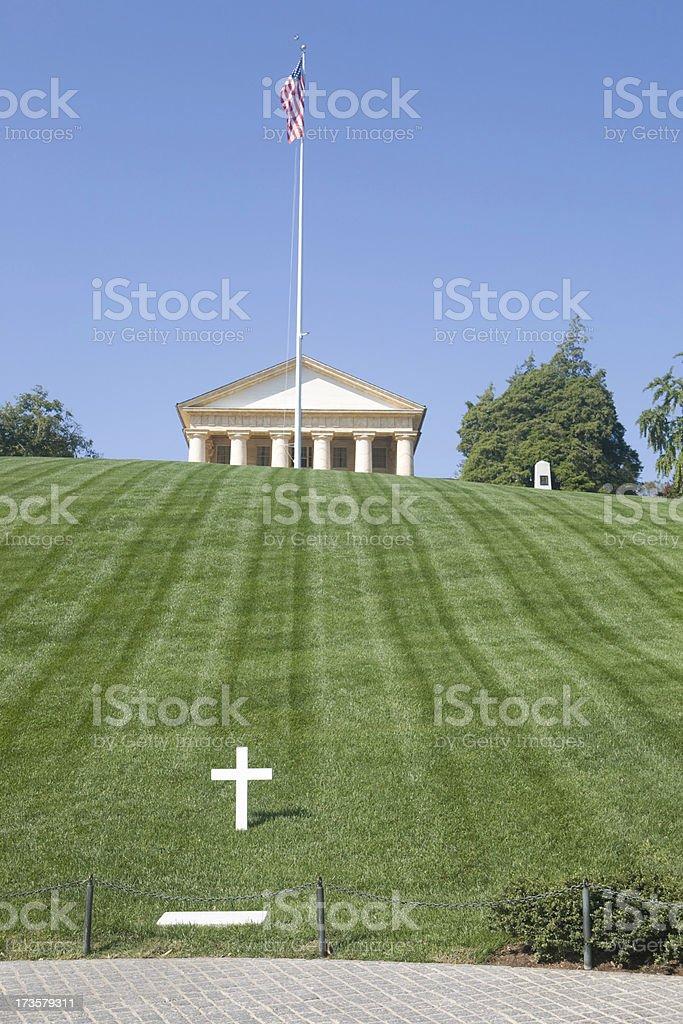 Robert Kennedy grave site stock photo