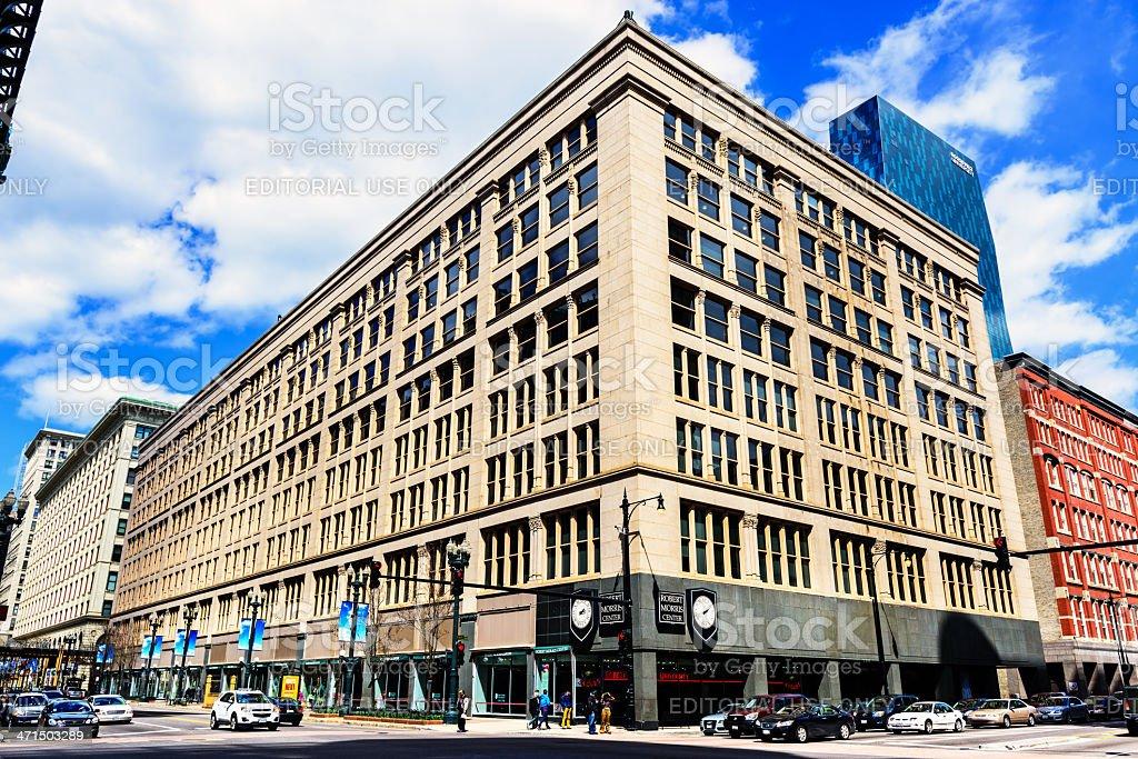 Robert Morris Center, downtown Chicago royalty-free stock photo