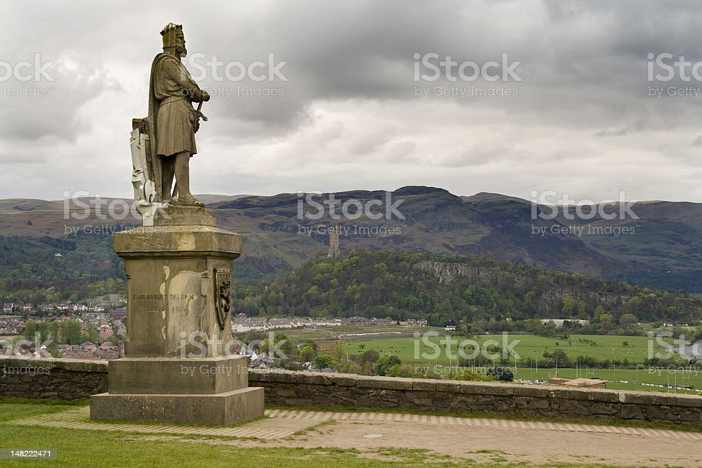 Robert the Bruce stock photo