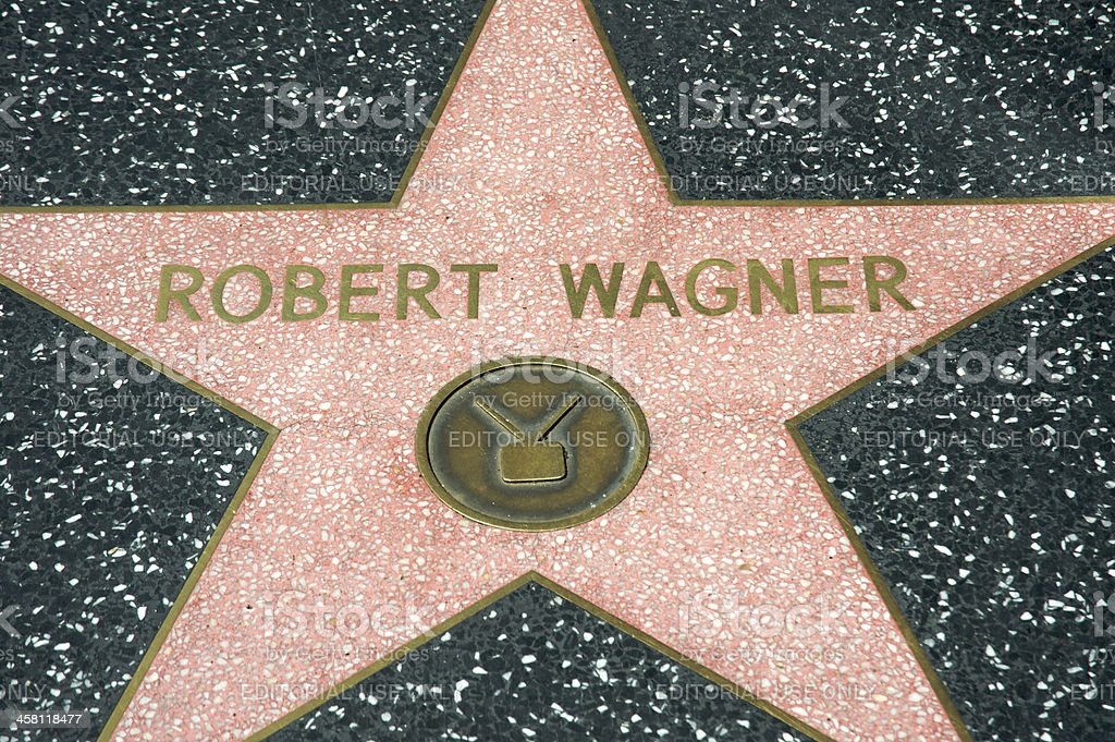 Robert Wagner royalty-free stock photo