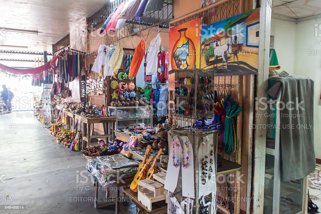 Roberto Huembes popular market from Managua. stock photo