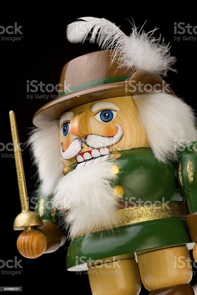 Robin Hood - Nut Cracker royalty-free stock photo