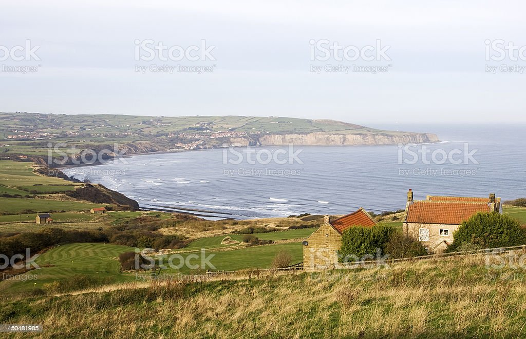 Robin Hood's Bay stock photo