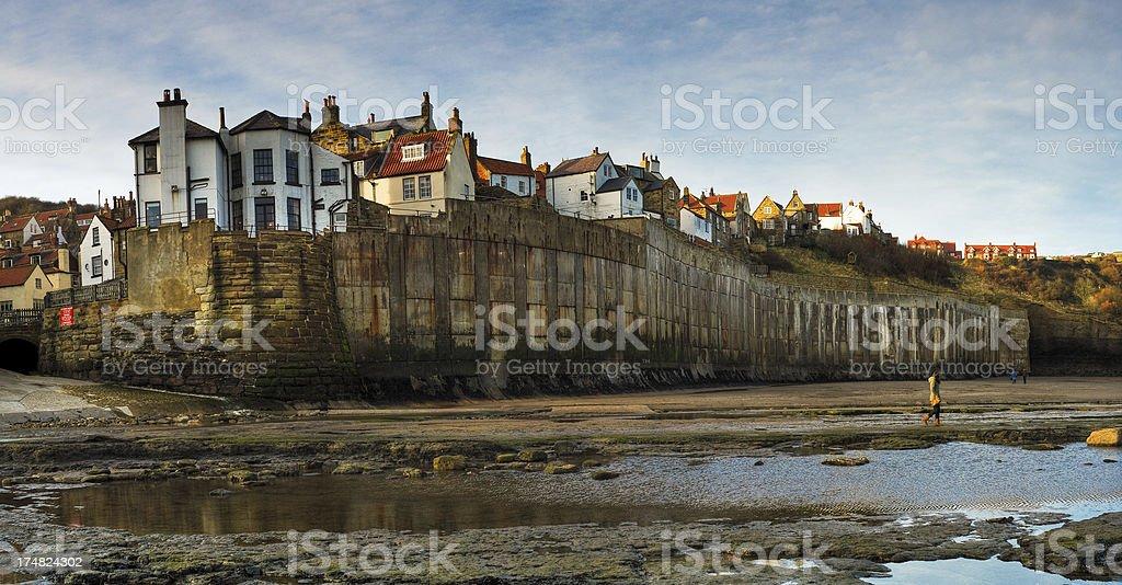 Robin Hoods Bay, Whitby, North Yorkshire, UK stock photo