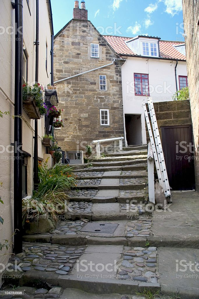 Robin Hood's Bay, Yorkshire stock photo