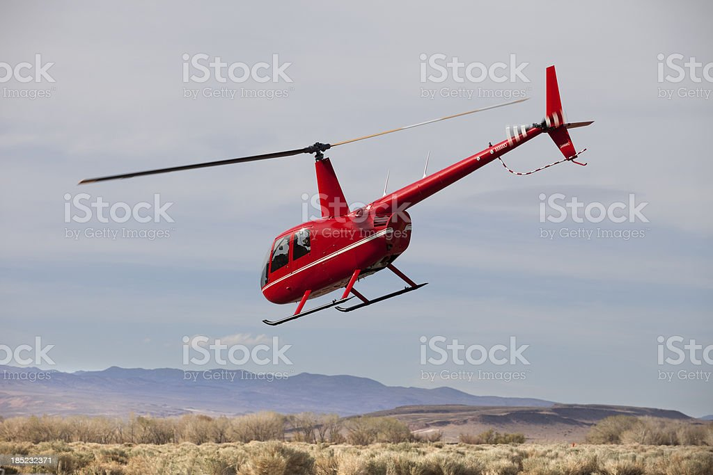 Robinson Helicopter royalty-free stock photo