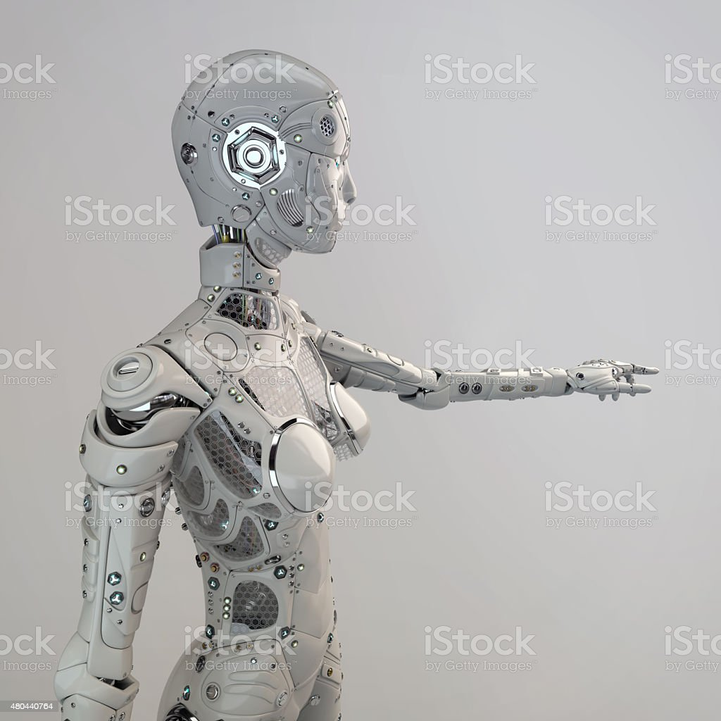 robogirl stock photo