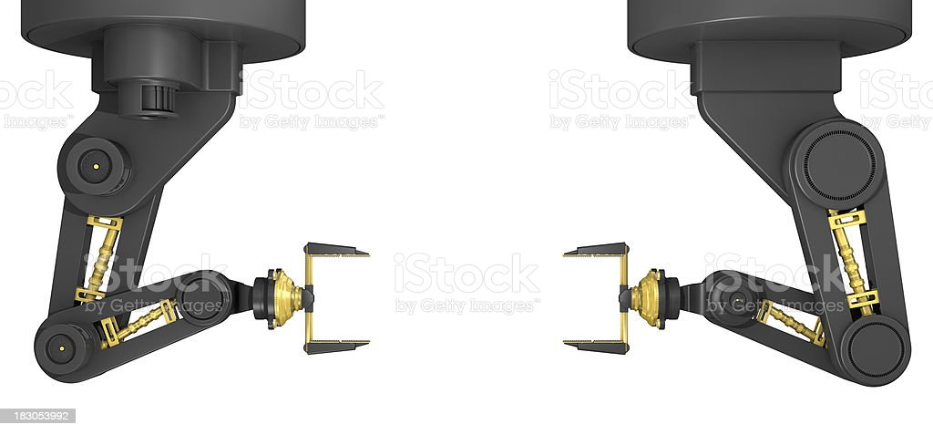 Robot Arms royalty-free stock photo