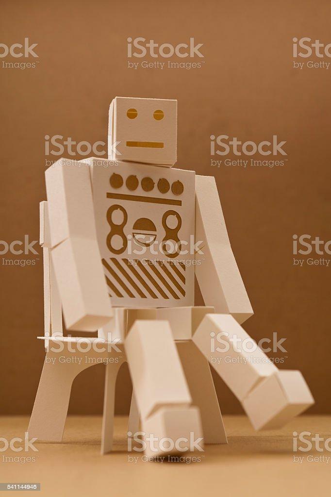 robot chair stock photo