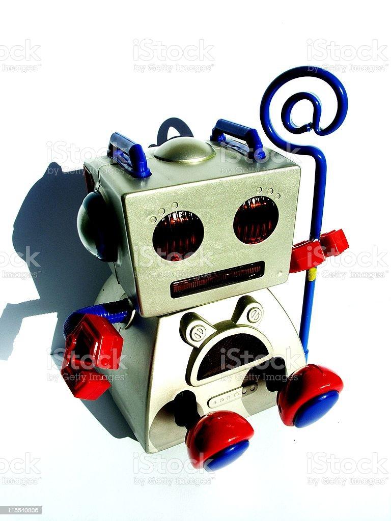 Robot E-mail stock photo