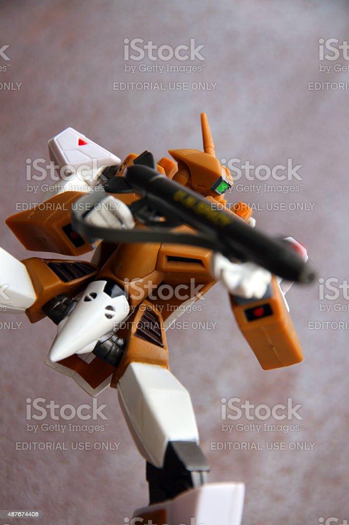 Robot Gun stock photo