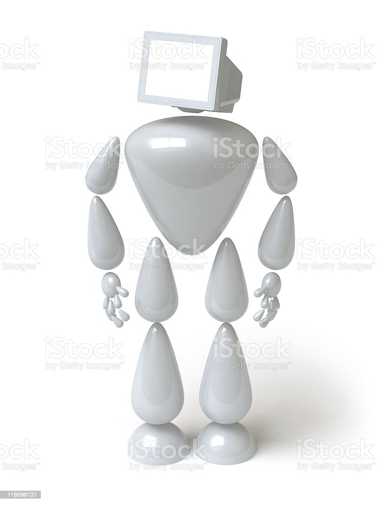 robot royalty-free stock photo