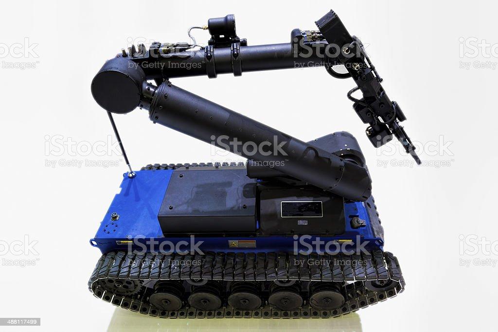 EOD Robot stock photo