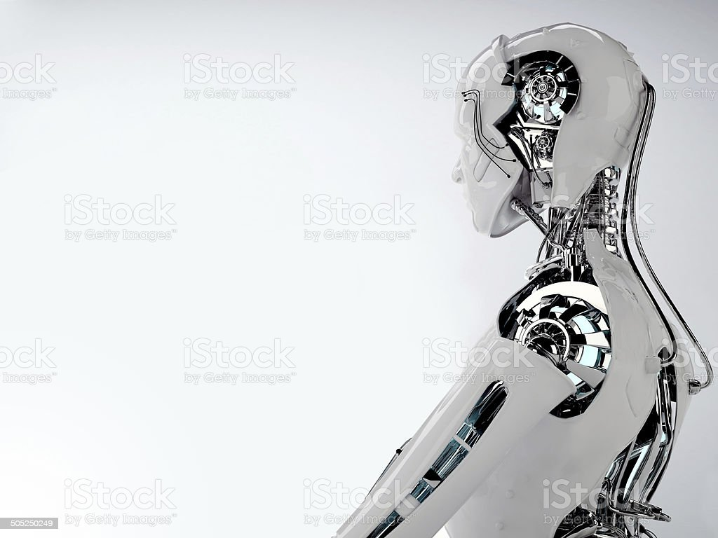 robot stock photo