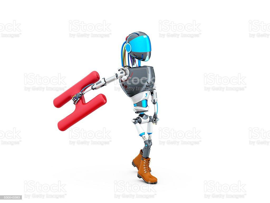 Robô foto royalty-free