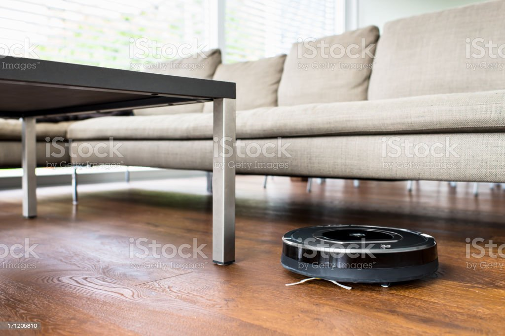 Robot Vacuum Cleaner stock photo