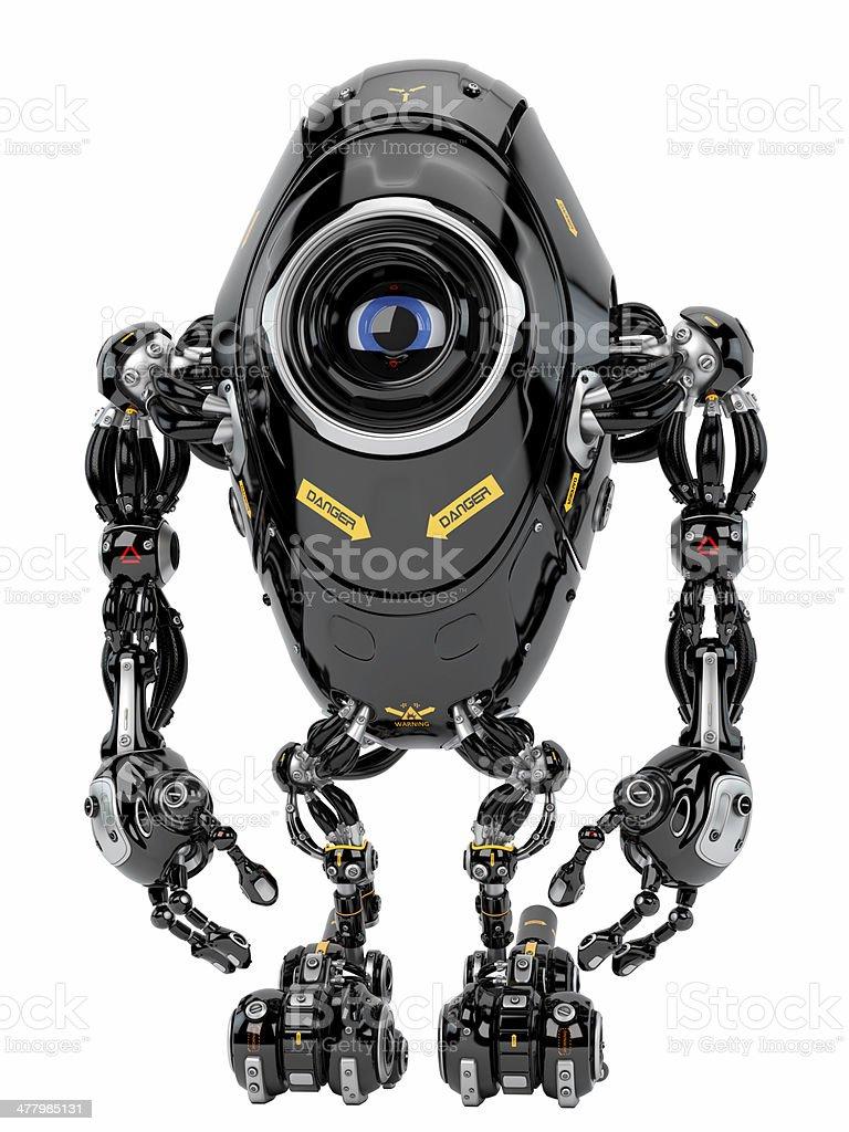 Robotic creature stock photo