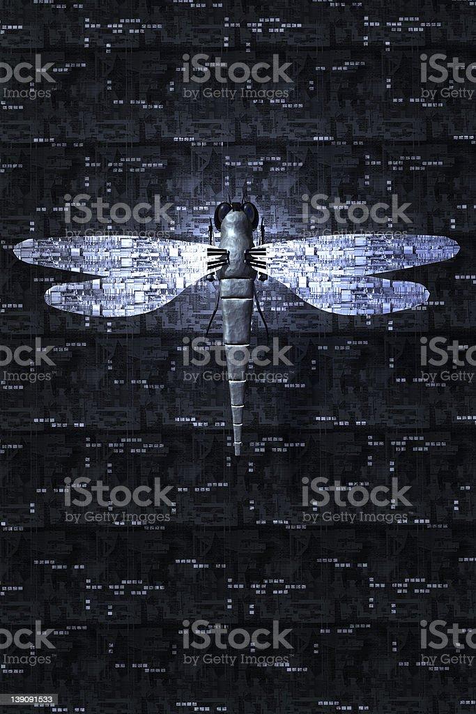 Robotic Dragonfly Version 2 stock photo