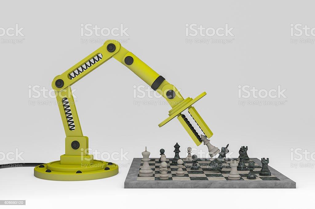 Robotic stock photo