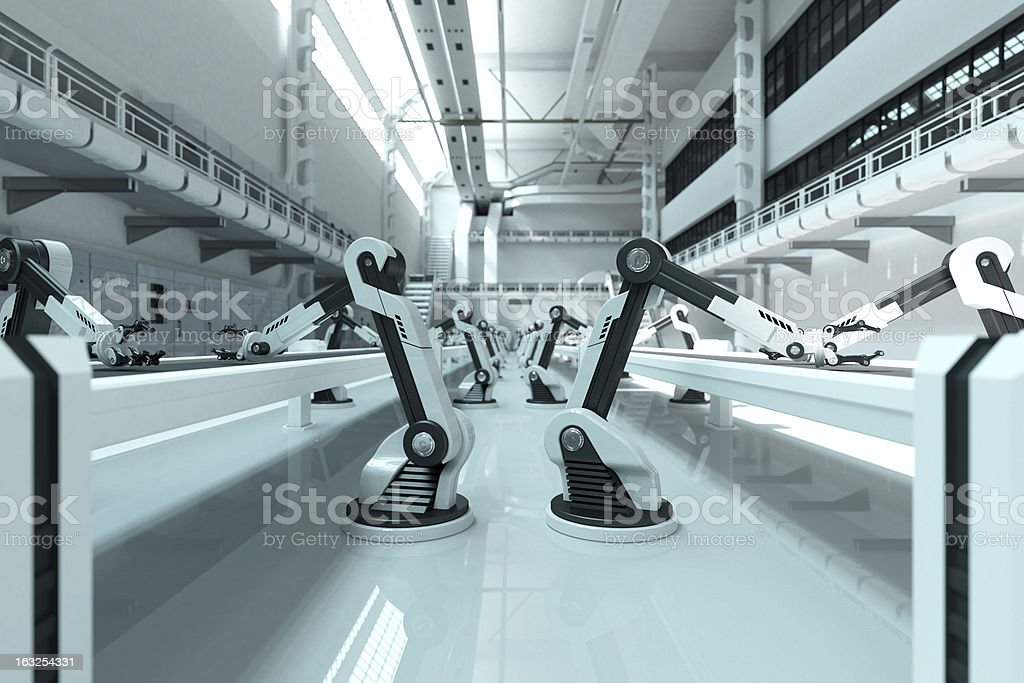 Robots stock photo