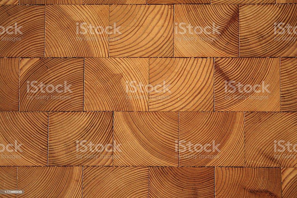 Robust wooden floor. stock photo