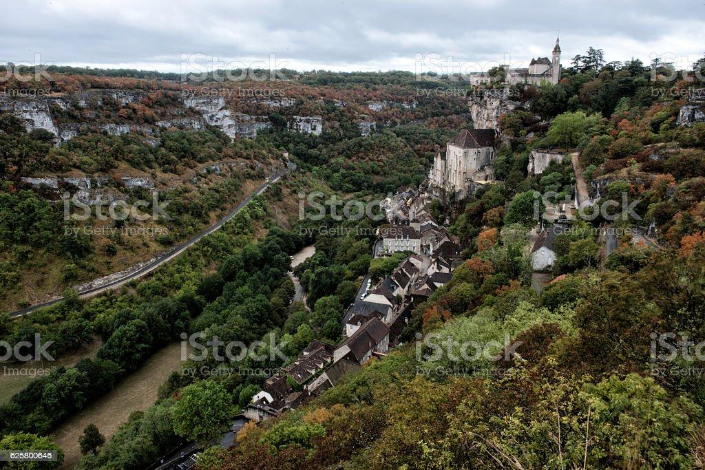 Rocamadour, France stock photo