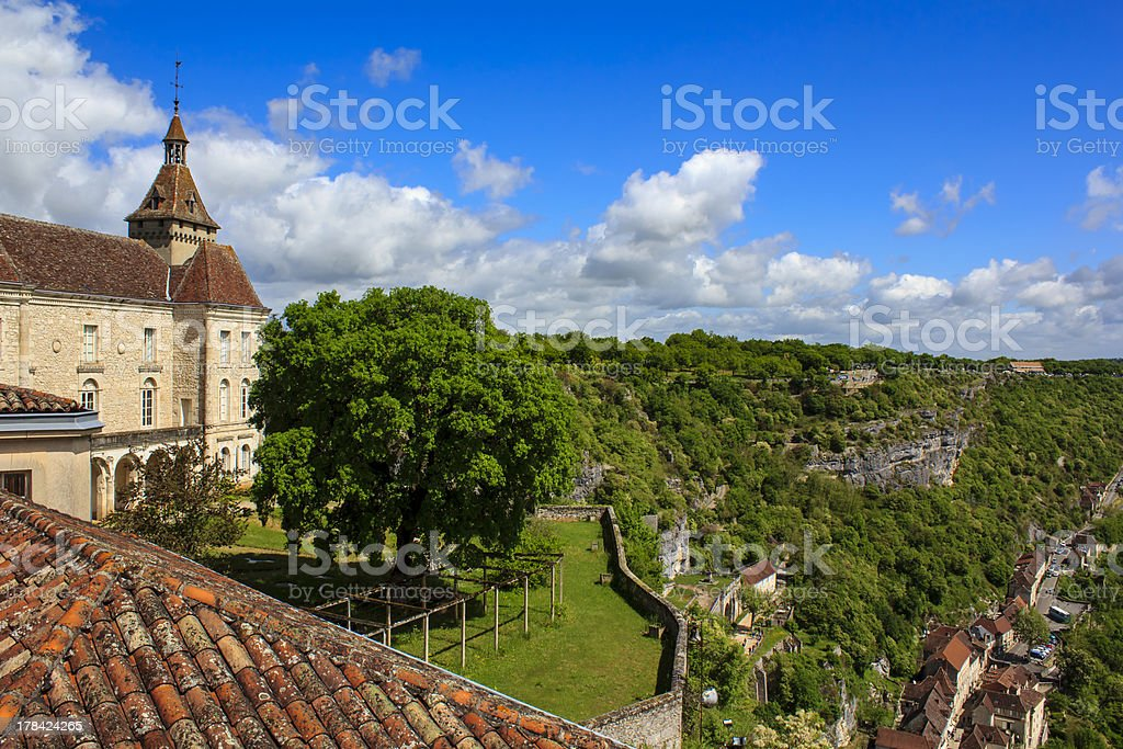 Rocamadour village, France stock photo