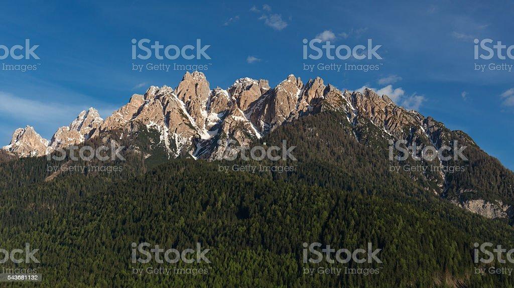 Rocca dei Baranci stock photo