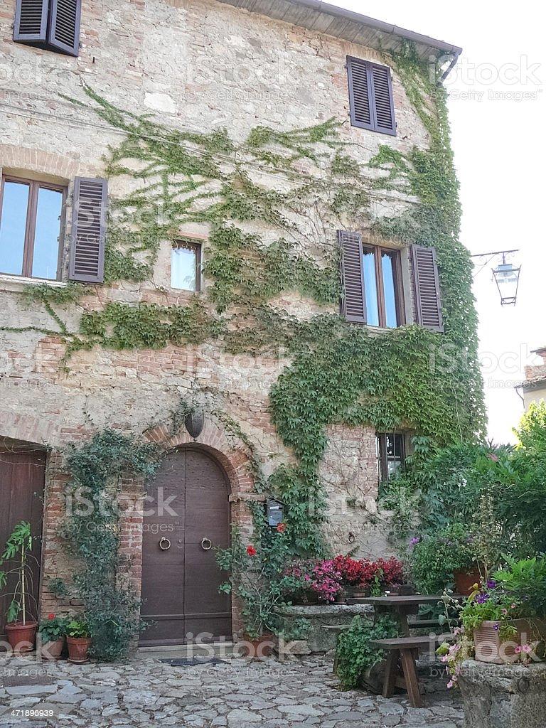 Rocca di Castiglione Orcia, Italy royalty-free stock photo
