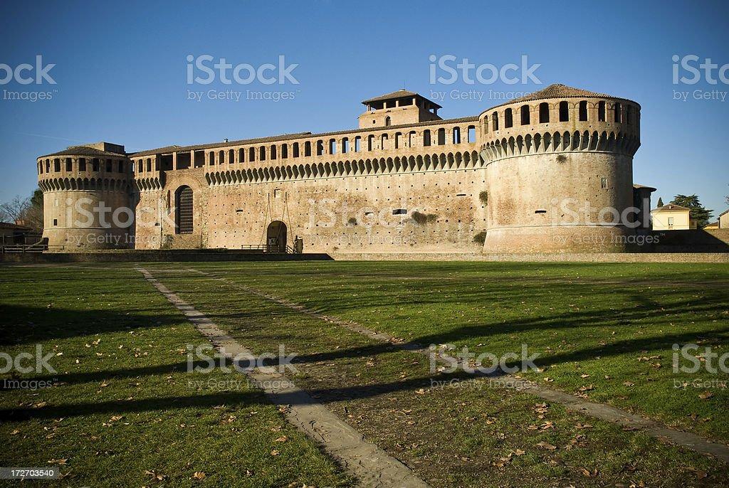 Rocca of Imola (Italy) stock photo