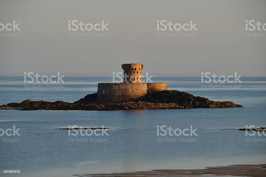 Rocco Tower, Jersey, U.K. stock photo