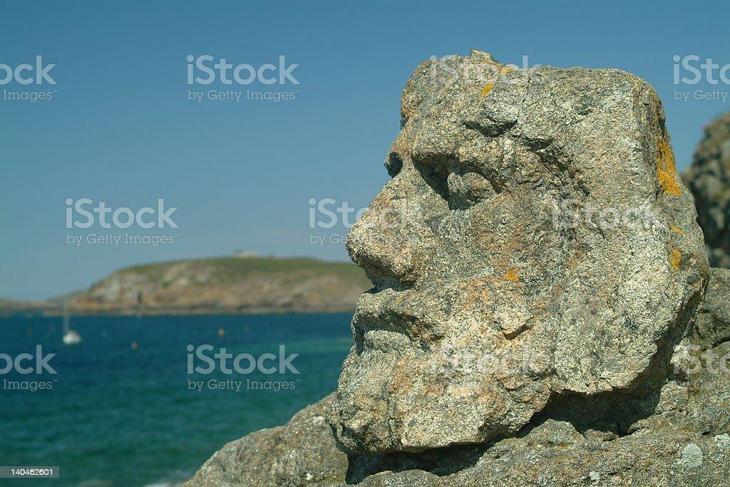 Rocher sculpté royalty-free stock photo