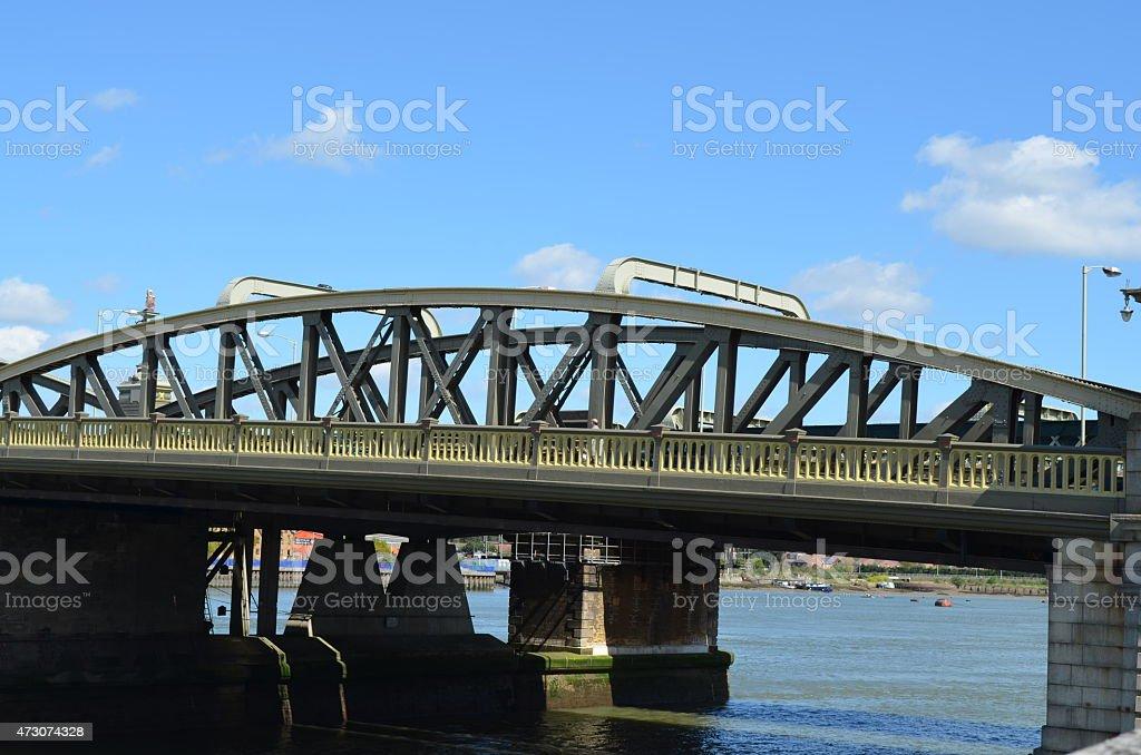 Rochester Bridge stock photo