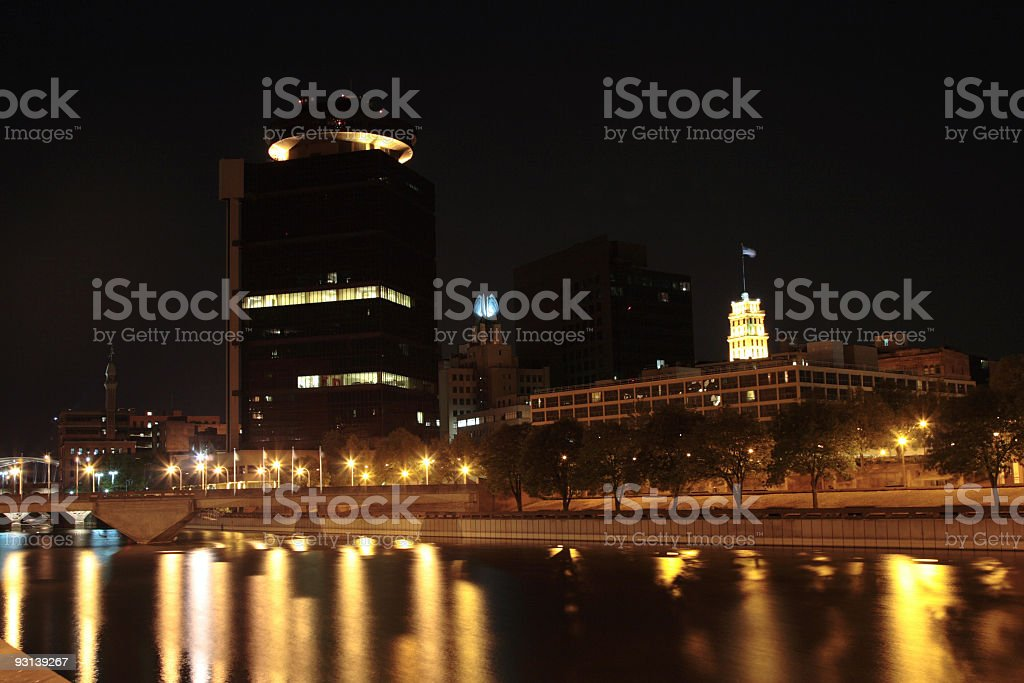 Rochester Downtown stock photo