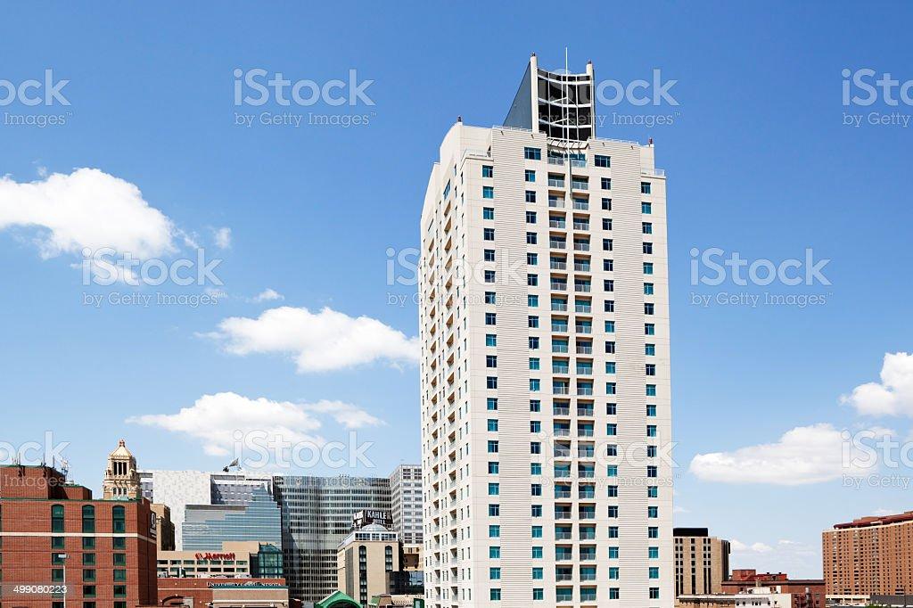 Rochester Minnesota Downtown Skyline stock photo