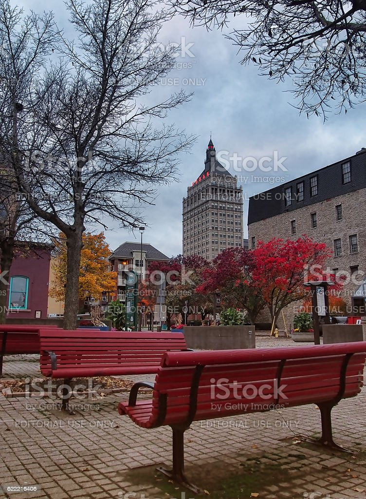 Rochester park stock photo
